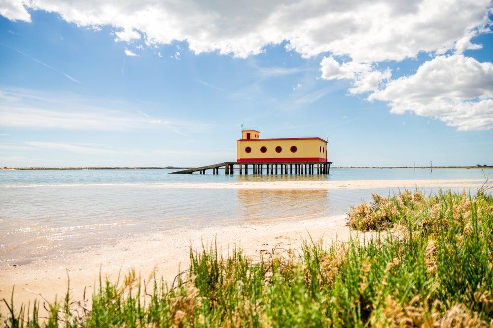 Ría Formosa en el Algarve