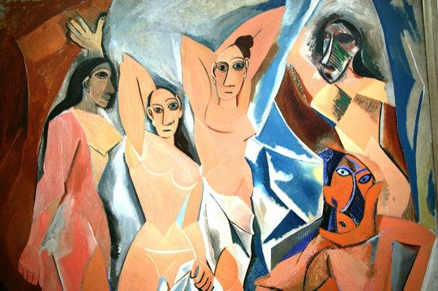 Señoritas de Avignon de Picasso