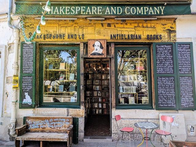 Shakespeare and Company, una de las librerías más bonitas de Europa