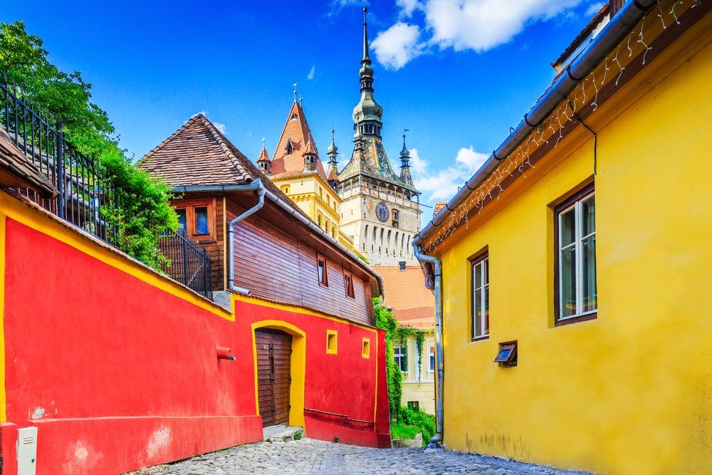 Sighisoara en Transilvania