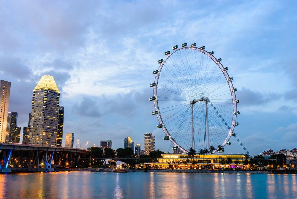 Singapur Flyer, nos subimos a la noria de Singapur