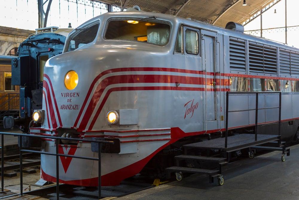 Talgo en el Museo del Ferrocarril de Madrid