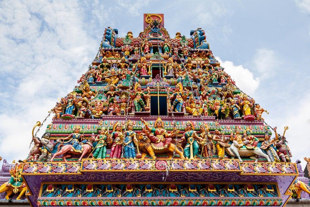 Templo Sri Veeramakaliamman en Little India