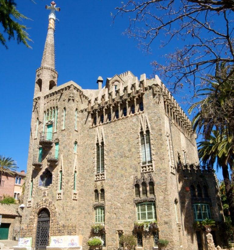 La torre Bellesguard en Barcelona, una joya de Gaudí