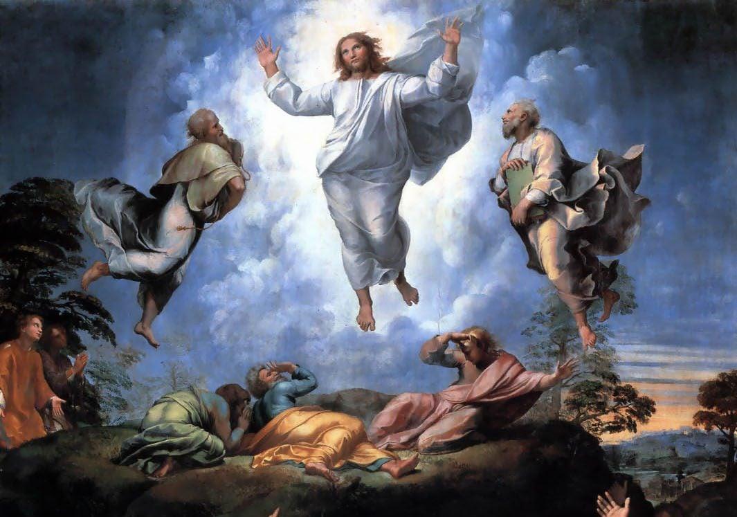 La Transfiguración de Rafael Sanzio