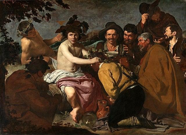 El trunfo de Baco, de Diego Velázquez