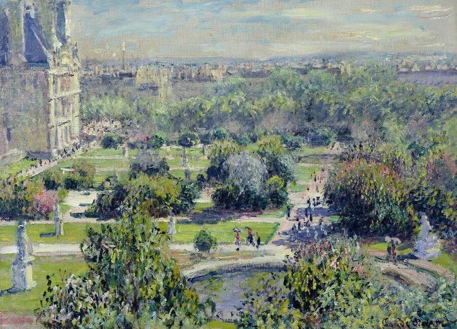 """""""Las Tullerías"""" de Monet"""