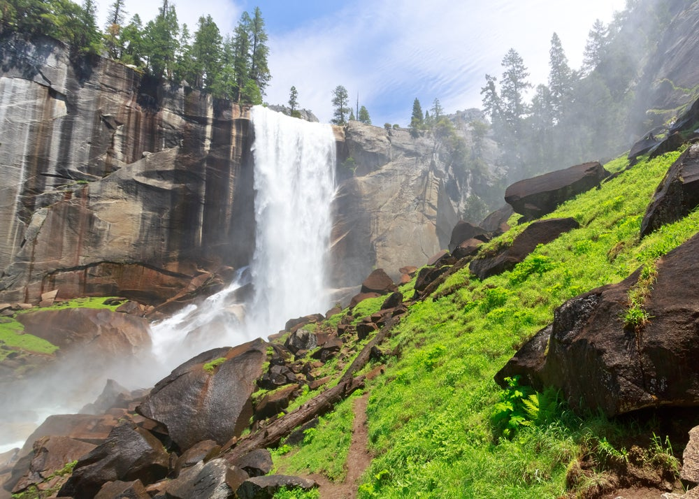 Vernal Fall en Yosemite