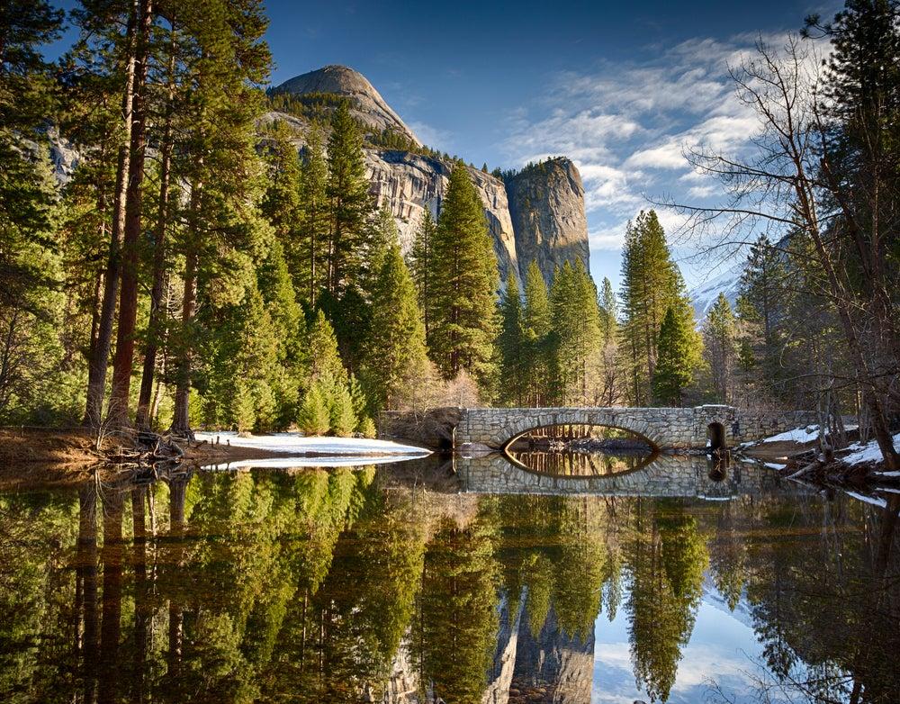 Parque Yosemite, una de las rutas en caravana con niños por América