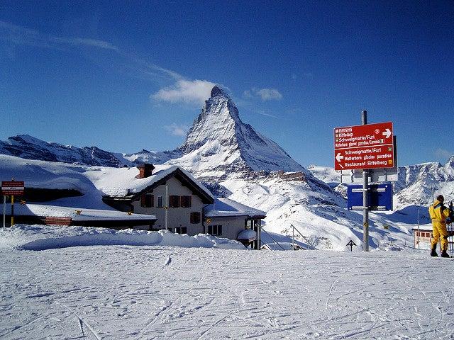 Pistas en Zermatt-Cervinia