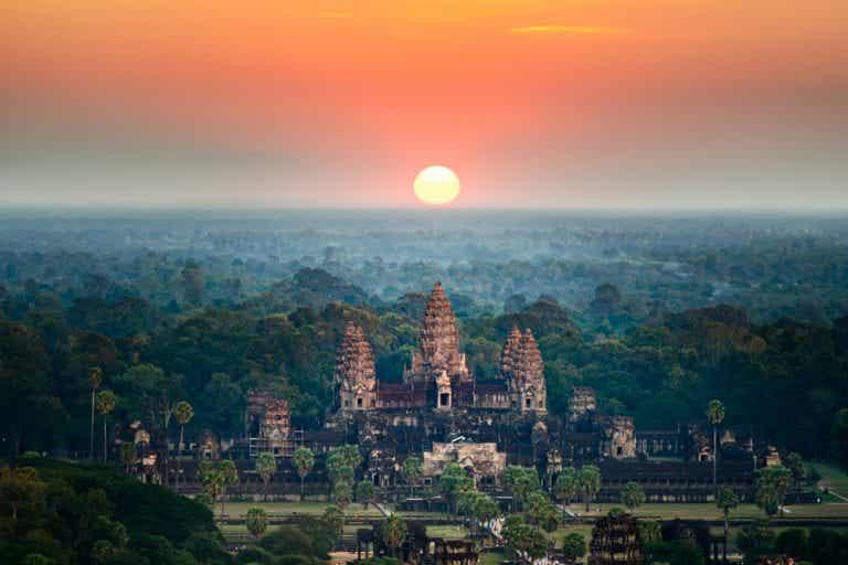 Los mejores amaneceres del mundo en Siem Riep, Camboya