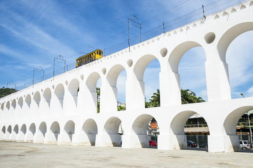 Arcos de Lapa en Río de Janeiro