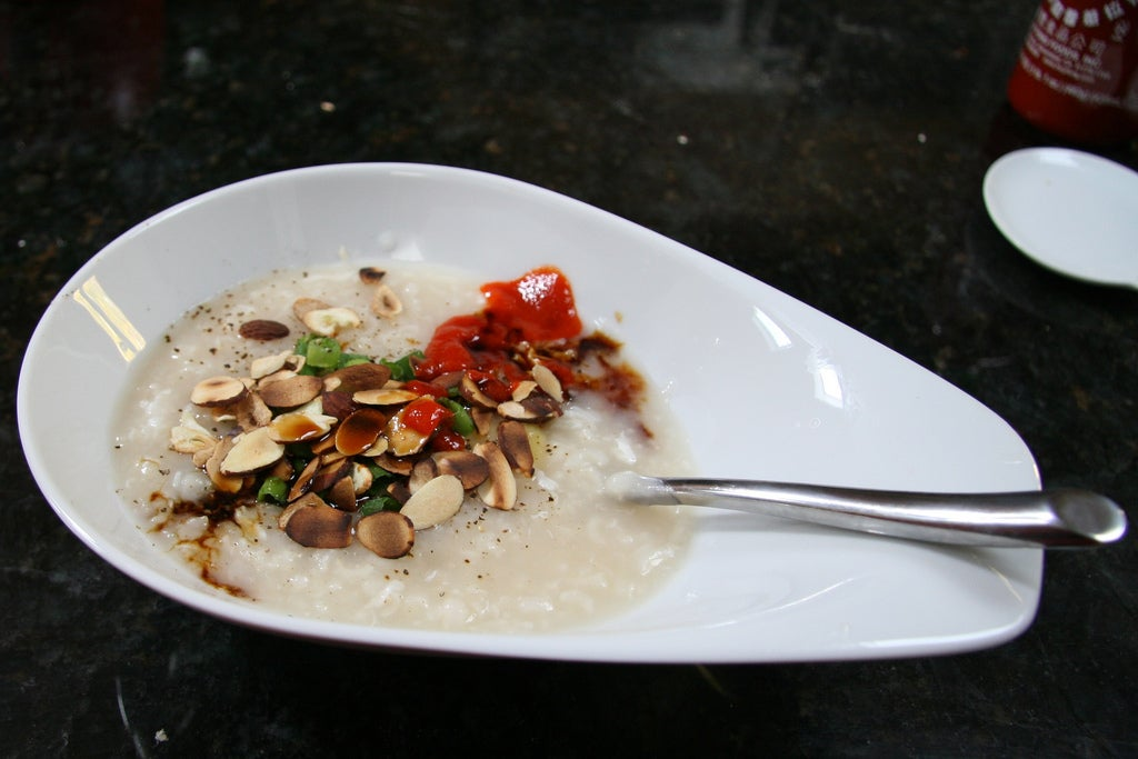 Arroz congee en China