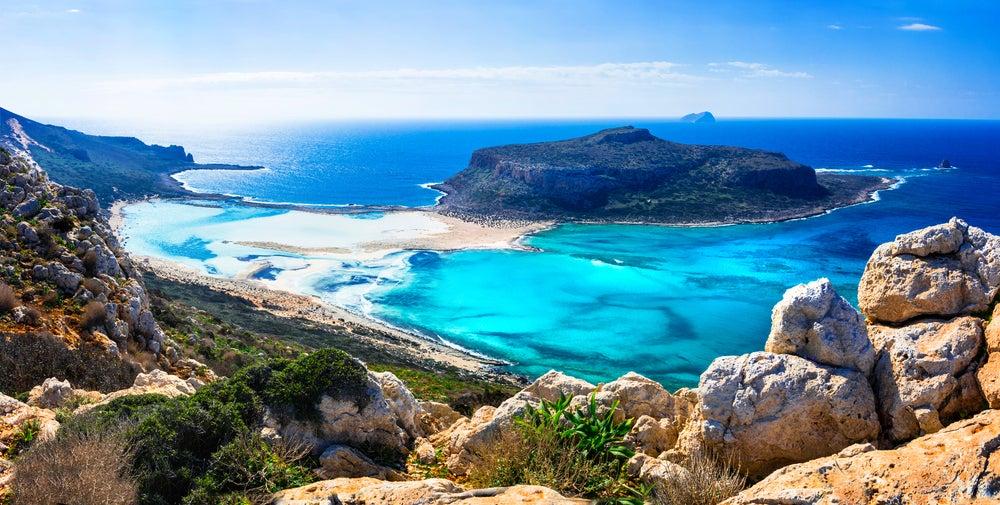 Balos en la isla de Creta