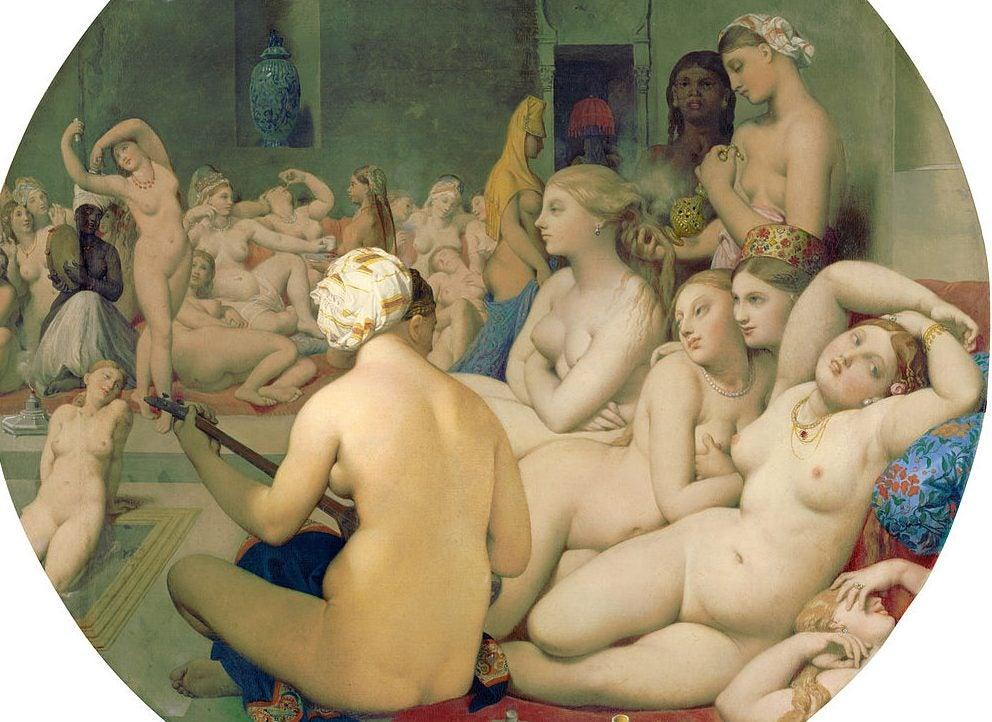 El baño turco en el Louvre