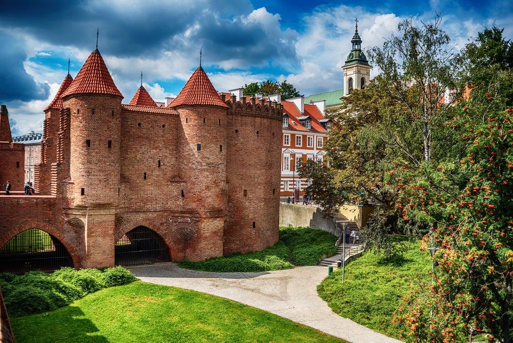Barbacana en Varsovia