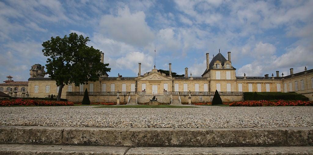 Castillo de Beychevelle en Burdeos