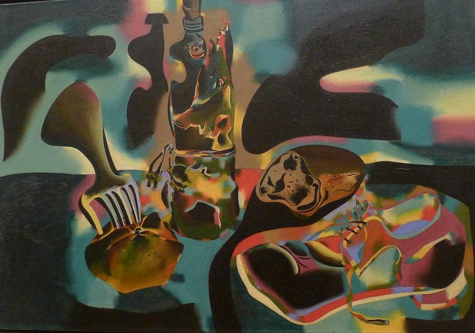 Bodegón del zapato muerto de Joan Miró