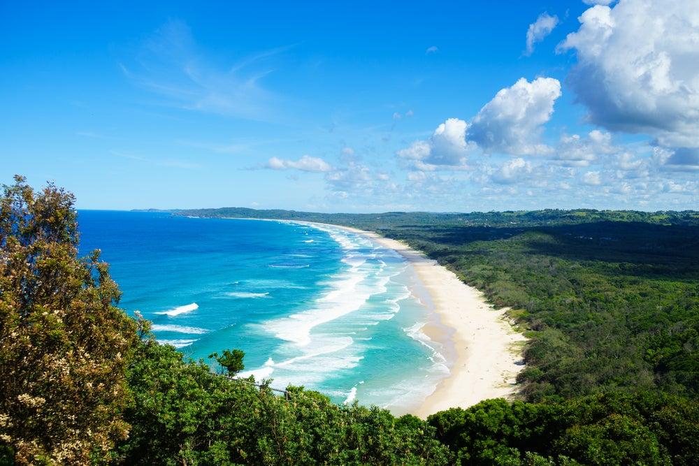 Byron Bay, una de las mejores playas en Australia