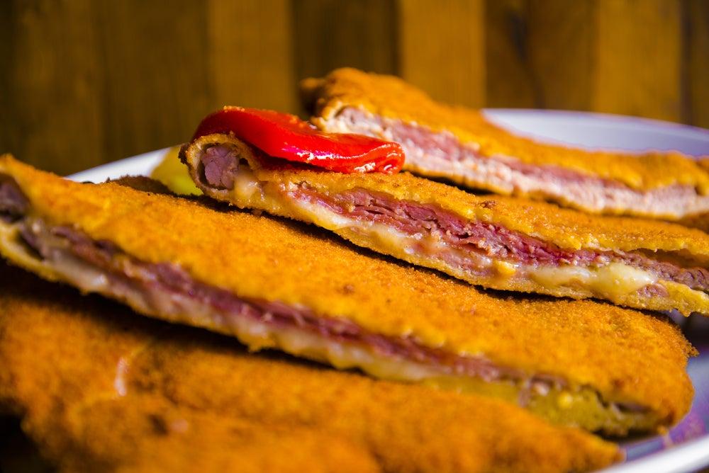 Cachopo, plato asturiano