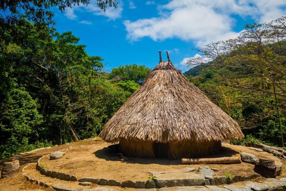 Casa en el Parque Natural Tayrona