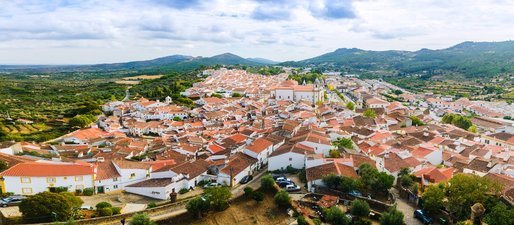 Castelo de Vide en Portugal