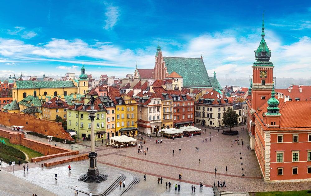 Un paseo por el centro histórico de Varsovia