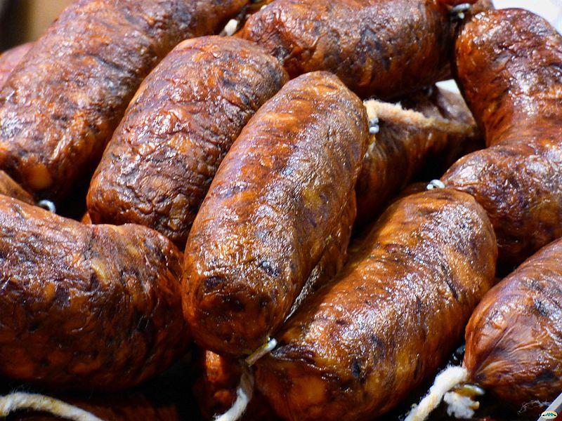 Chorizos gallegos