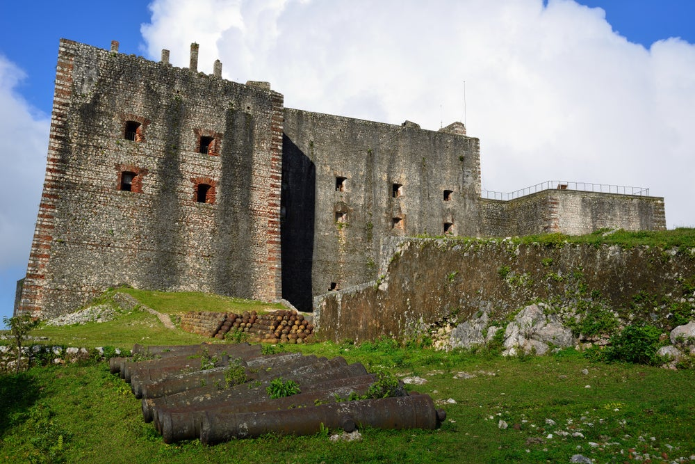Citadelle la Ferriere en Haití