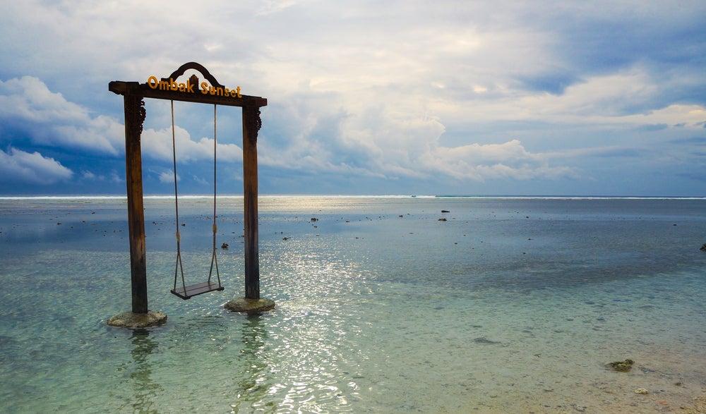 Columpio en las islas Gili