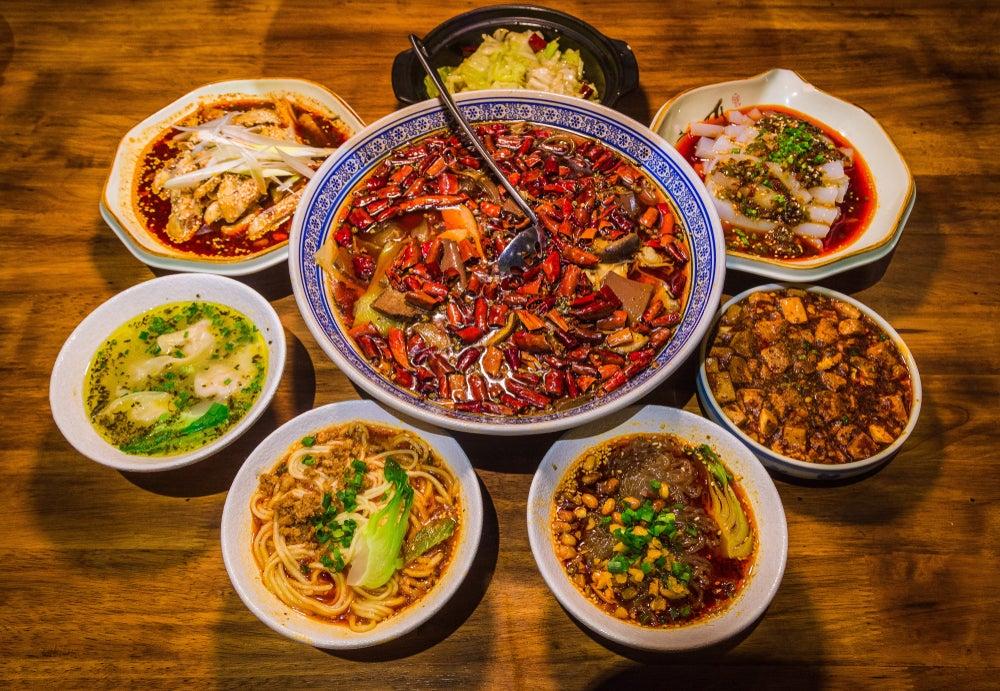 Platos típicos de Sichuan