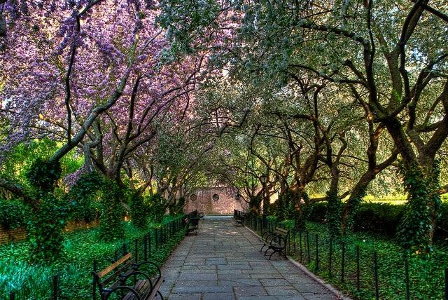 Conservatory Garden uno de los sitios para disfrutar de Central Park
