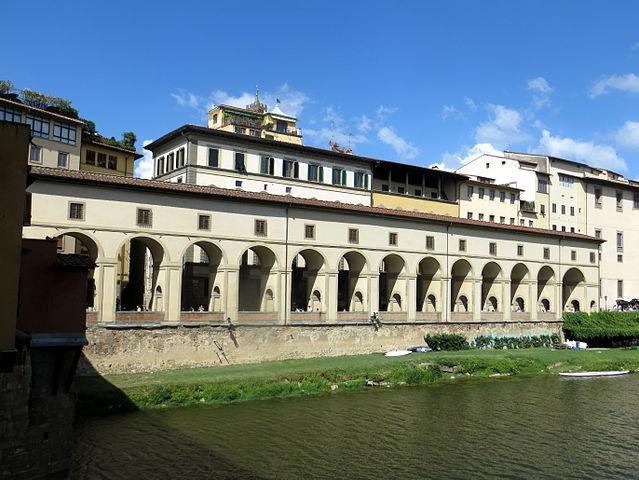 Corredor Vasariano en Florencia