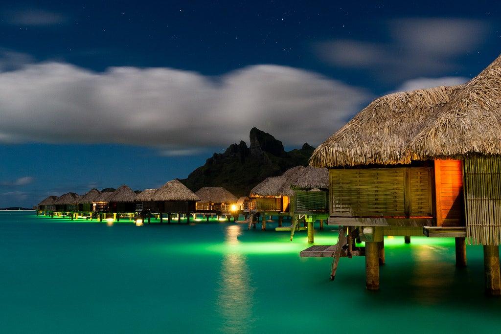 Hotel Four Seasons en Bora Bora