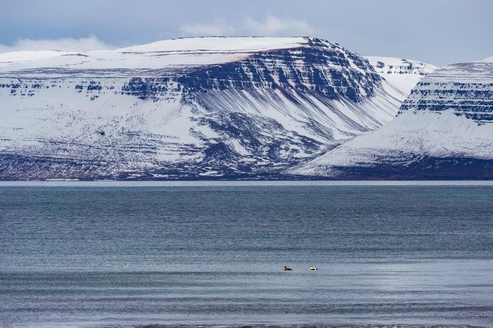 Glaciar Drangajökull en Islandia
