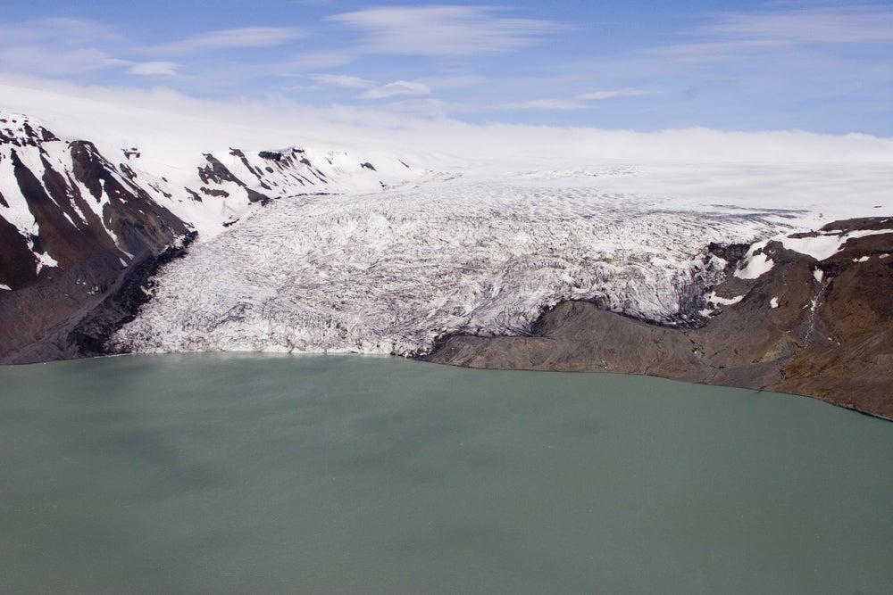 Glaciar Hofsjokull en Islandia