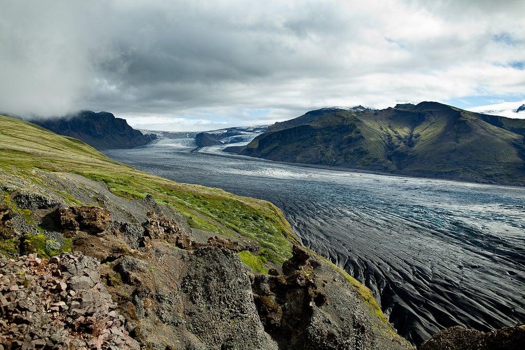 Glaciares en Islandia: Vatnajokull