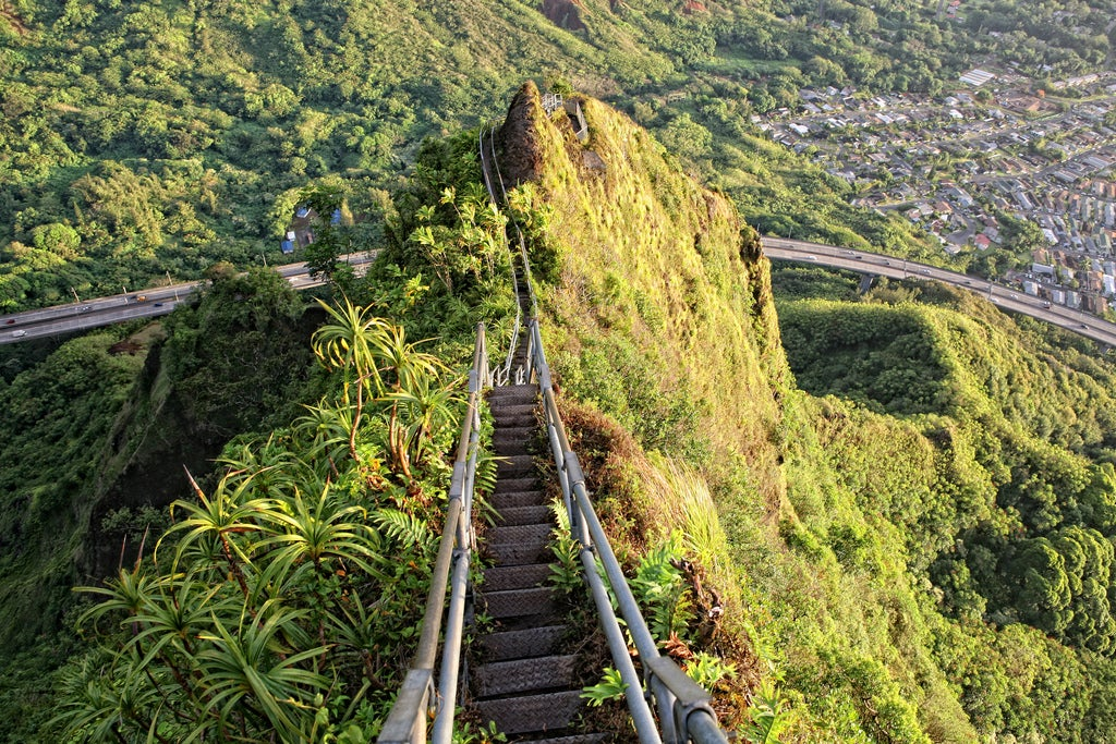 Haiku Stairs en Hawai