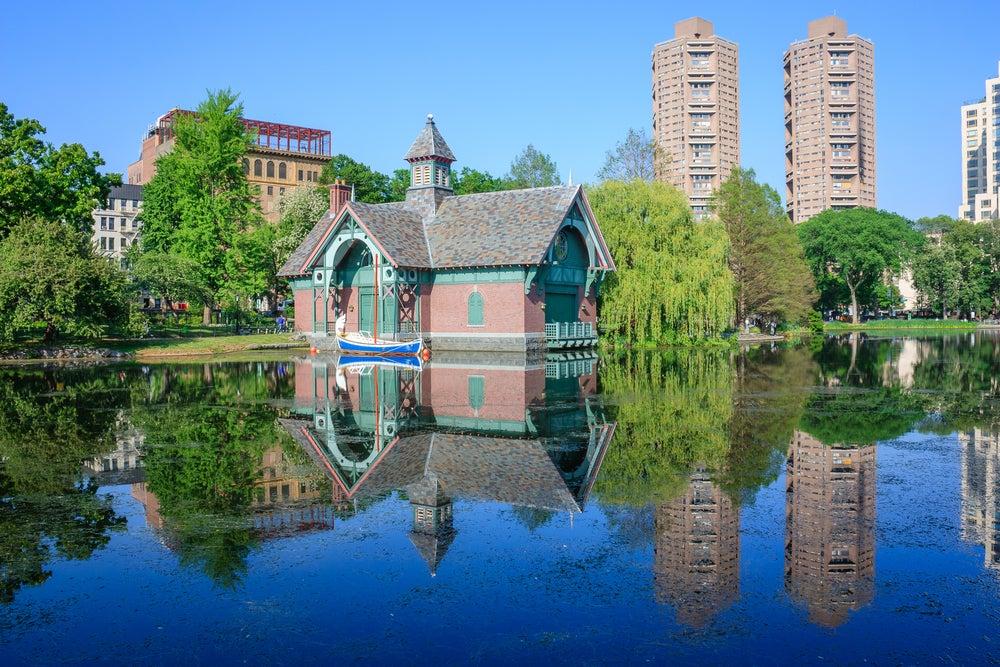 Harlem Meer en Central Park