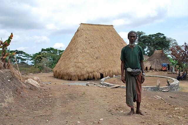 Hombre de Timor Oriental