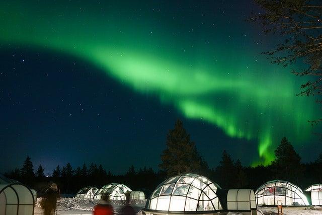 Hotel Kakslauttanen en Finlandia