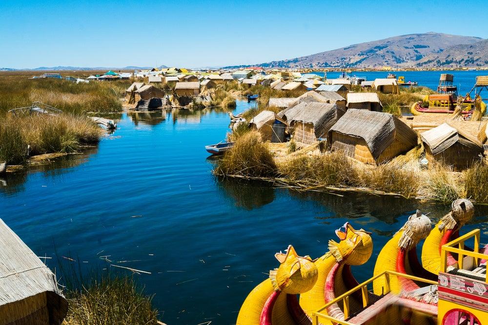 Lago Titicaca en Bolivia