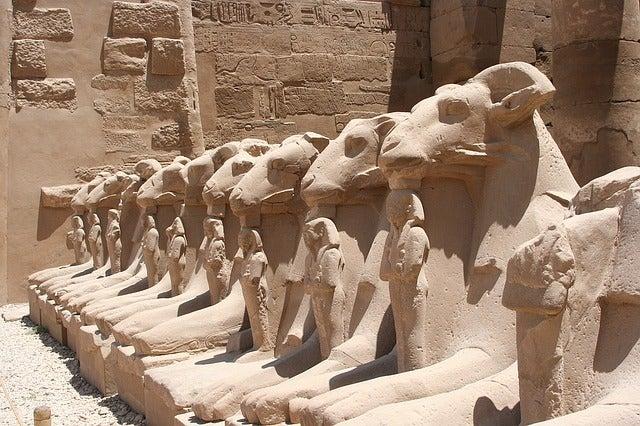 Karnak en Egipto