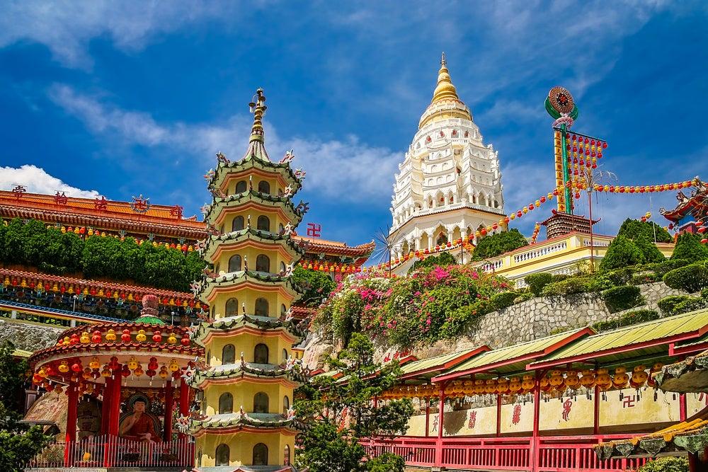 Sitios que visitar en Penang, uno de los encantos de Malasia