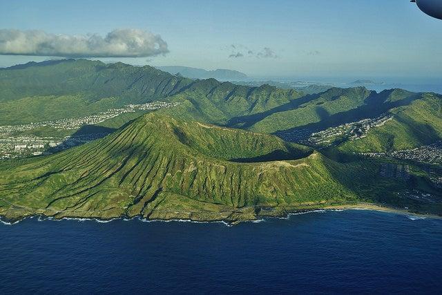 Koko crater en Hawai