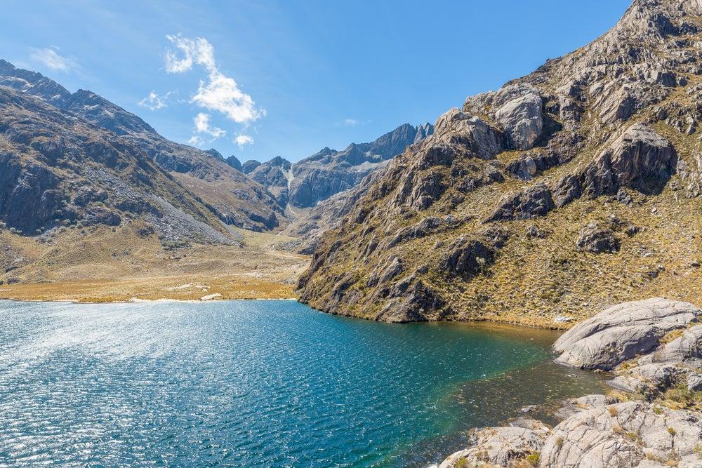 Laguna Verde en Venezuela