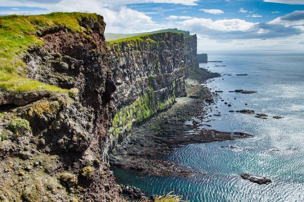 Latrabajarg, perte de la belleza de Islandia