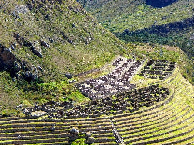 Llactapata en Perú