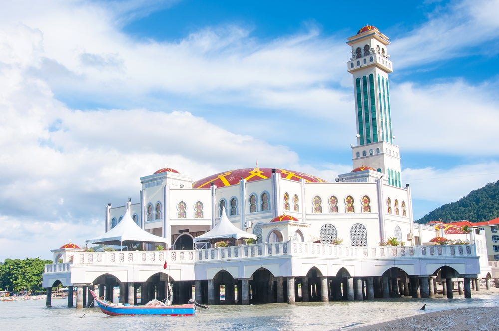Mezquita Masjid Terapung Pulau en Penang