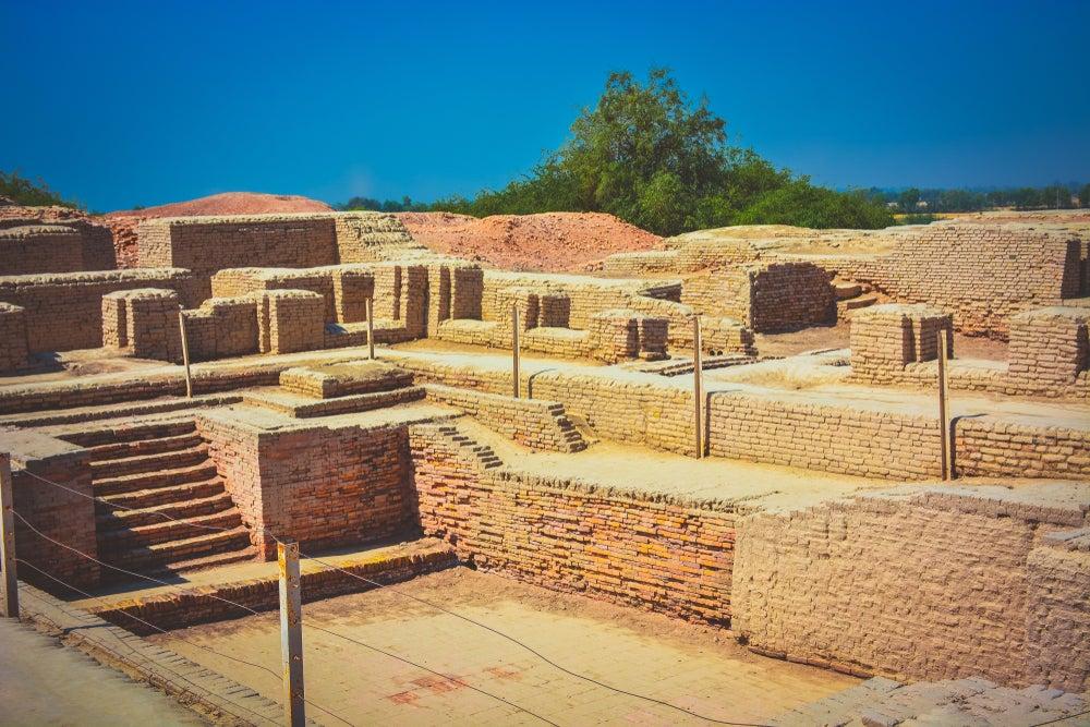 Piscina en Mohenjo-Daro